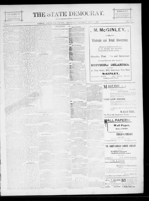 Primary view of object titled 'The State Democrat. (Norman, Okla.), Vol. 5, No. 114, Ed. 1 Saturday, June 9, 1894'.