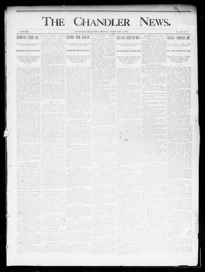 Primary view of object titled 'The Chandler News. (Chandler, Okla.), Vol. 4, No. 19, Ed. 1 Friday, February 1, 1895'.