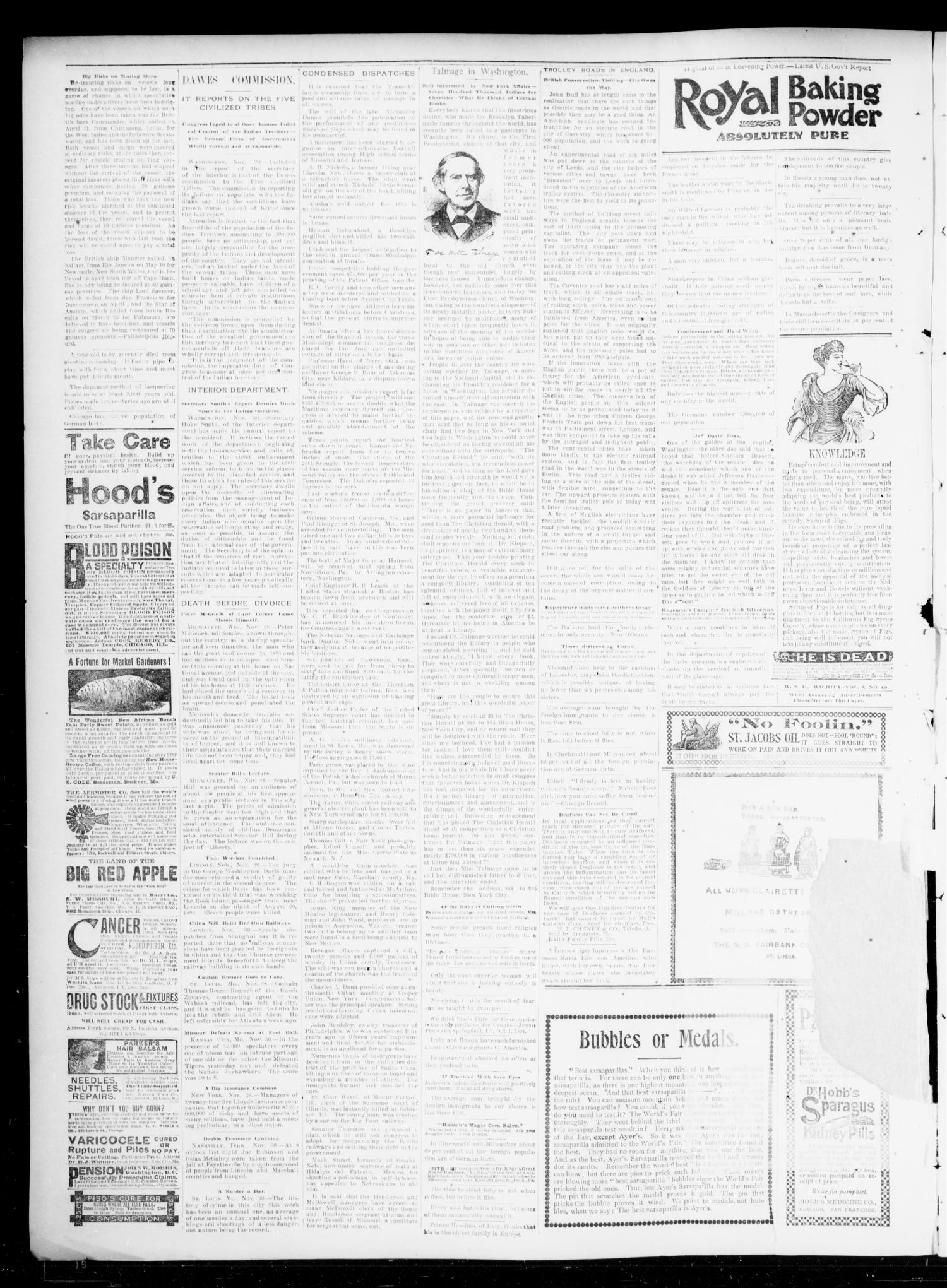 The Chandler News. (Chandler, Okla.), Vol. 5, No. 11, Ed. 1 Friday, December 6, 1895                                                                                                      [Sequence #]: 4 of 4