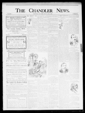 Primary view of object titled 'The Chandler News. (Chandler, Okla.), Vol. 5, No. 20, Ed. 1 Friday, February 7, 1896'.