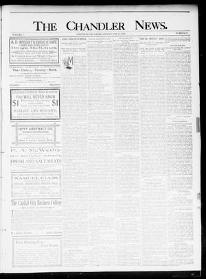Primary view of object titled 'The Chandler News. (Chandler, Okla.), Vol. 5, No. 23, Ed. 1 Friday, February 28, 1896'.