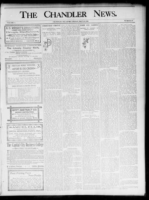 Primary view of object titled 'The Chandler News. (Chandler, Okla.), Vol. 5, No. 36, Ed. 1 Friday, May 29, 1896'.