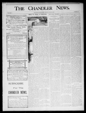 Primary view of object titled 'The Chandler News. (Chandler, Okla.), Vol. 5, No. 44, Ed. 1 Friday, July 24, 1896'.