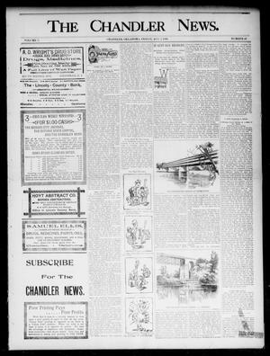 Primary view of object titled 'The Chandler News. (Chandler, Okla.), Vol. 5, No. 46, Ed. 1 Friday, August 7, 1896'.