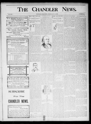 The Chandler News. (Chandler, Okla.), Vol. 5, No. 48, Ed. 1 Friday, August 21, 1896