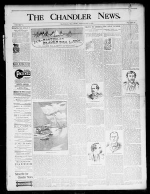 Primary view of object titled 'The Chandler News. (Chandler, Okla.), Vol. 6, No. 20, Ed. 1 Friday, February 5, 1897'.