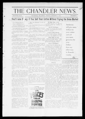 Primary view of object titled 'The Chandler News. (Chandler, Okla.), Vol. 7, No. 2, Ed. 1 Friday, October 1, 1897'.