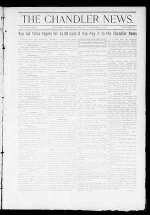 Primary view of object titled 'The Chandler News. (Chandler, Okla.), Vol. 7, No. 13, Ed. 1 Friday, December 17, 1897'.
