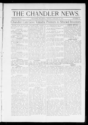 The Chandler News. (Chandler, Okla.), Vol. 7, No. 19, Ed. 1 Friday, January 28, 1898