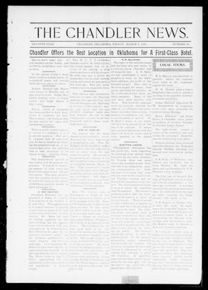 The Chandler News. (Chandler, Okla.), Vol. 7, No. 24, Ed. 1 Friday, March 4, 1898