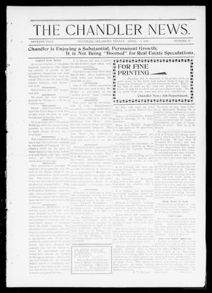The Chandler News. (Chandler, Okla.), Vol. 7, No. 28, Ed. 1 Friday, April 1, 1898