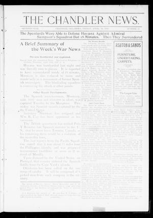 Primary view of object titled 'The Chandler News. (Chandler, Okla.), Vol. 7, No. 32, Ed. 1 Friday, April 29, 1898'.