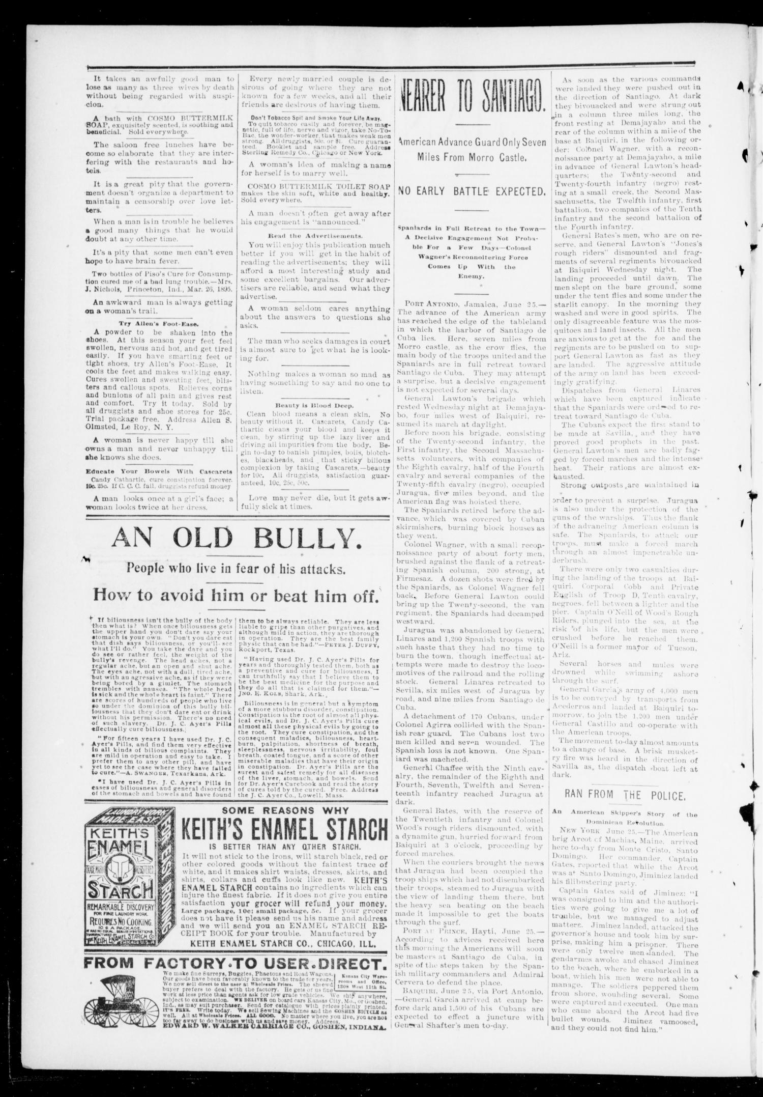 The Chandler News. (Chandler, Okla.), Vol. 7, No. 41, Ed. 1 Friday, July 1, 1898                                                                                                      [Sequence #]: 2 of 10