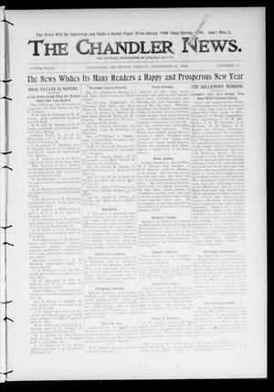 Primary view of object titled 'The Chandler News. (Chandler, Okla.), Vol. 9, No. 15, Ed. 1 Friday, December 29, 1899'.