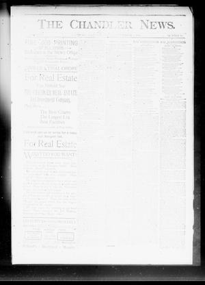 Primary view of object titled 'The Chandler News. (Chandler, Okla.), Vol. 3, No. 10, Ed. 1 Friday, December 1, 1893'.