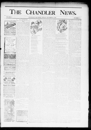 Primary view of object titled 'The Chandler News. (Chandler, Okla.), Vol. 3, No. 11, Ed. 1 Friday, December 8, 1893'.