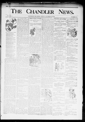 Primary view of object titled 'The Chandler News. (Chandler, Okla.), Vol. 3, No. 14, Ed. 1 Friday, December 29, 1893'.