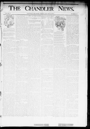 Primary view of object titled 'The Chandler News. (Chandler, Okla.), Vol. 3, No. 16, Ed. 1 Friday, January 12, 1894'.