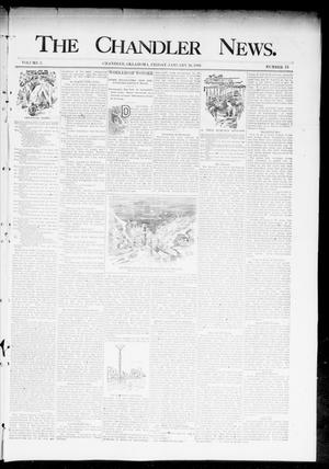 Primary view of object titled 'The Chandler News. (Chandler, Okla.), Vol. 3, No. 18, Ed. 1 Friday, January 26, 1894'.