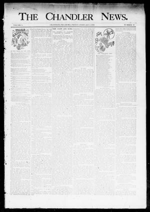Primary view of object titled 'The Chandler News. (Chandler, Okla.), Vol. 3, No. 19, Ed. 1 Friday, February 2, 1894'.