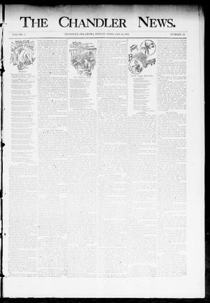 Primary view of object titled 'The Chandler News. (Chandler, Okla.), Vol. 3, No. 21, Ed. 1 Friday, February 16, 1894'.