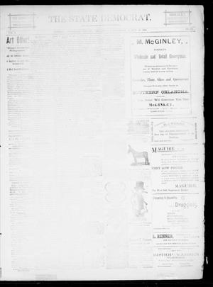 The State Democrat. (Norman, Okla.), Vol. 5, No. 72, Ed. 1 Wednesday, March 28, 1894
