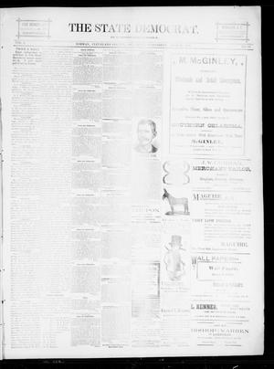 The State Democrat. (Norman, Okla.), Vol. 5, No. 98, Ed. 1 Wednesday, April 25, 1894