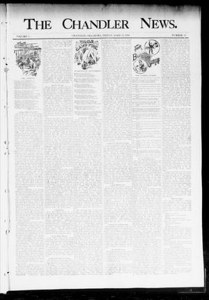 Primary view of object titled 'The Chandler News. (Chandler, Okla.), Vol. 3, No. 31, Ed. 1 Friday, April 27, 1894'.