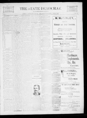 The State Democrat. (Norman, Okla.), Vol. 5, No. 123, Ed. 1 Wednesday, July 11, 1894