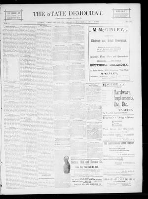 The State Democrat. (Norman, Okla.), Vol. 5, No. 125, Ed. 1 Wednesday, July 18, 1894