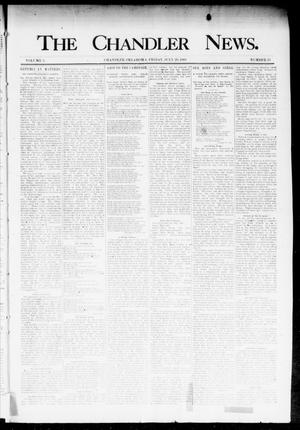 Primary view of object titled 'The Chandler News. (Chandler, Okla.), Vol. 3, No. 33, Ed. 1 Friday, July 20, 1894'.