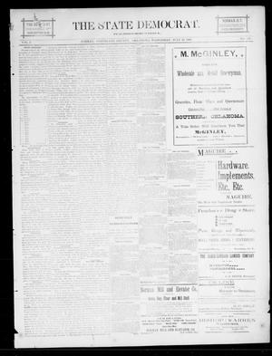 The State Democrat. (Norman, Okla.), Vol. 5, No. 127, Ed. 1 Wednesday, July 25, 1894