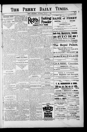 Primary view of object titled 'The Perry Daily Times. (Perry, Okla.), Vol. 1, No. 271, Ed. 1 Saturday, August 4, 1894'.