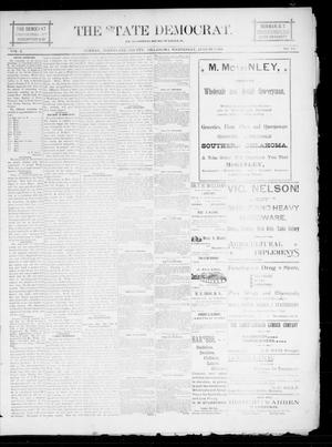 The State Democrat. (Norman, Okla.), Vol. 5, No. 131, Ed. 1 Wednesday, August 8, 1894