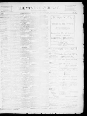 Primary view of object titled 'The State Democrat. (Norman, Okla.), Vol. 5, No. 135, Ed. 1 Wednesday, August 22, 1894'.