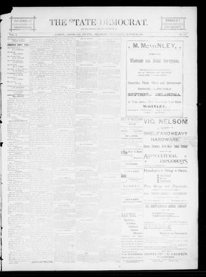 The State Democrat. (Norman, Okla.), Vol. 5, No. 137, Ed. 1 Wednesday, August 29, 1894