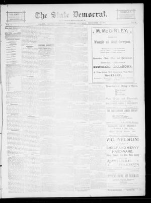 The State Democrat. (Norman, Okla.), Vol. 6, No. 39, Ed. 1 Saturday, September 22, 1894