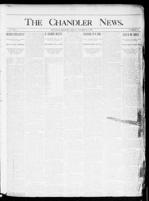 Primary view of object titled 'The Chandler News. (Chandler, Okla.), Vol. 3, No. 50, Ed. 1 Friday, November 16, 1894'.