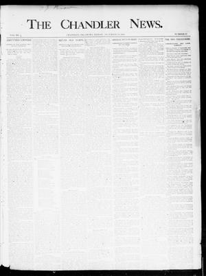 Primary view of object titled 'The Chandler News. (Chandler, Okla.), Vol. 4, No. 12, Ed. 1 Friday, December 14, 1894'.