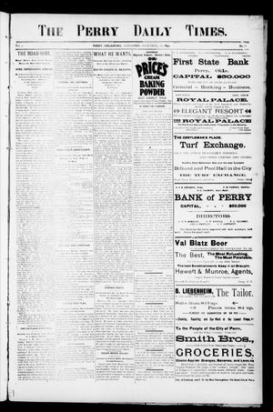 Primary view of object titled 'The Perry Daily Times. (Perry, Okla.), Vol. 2, No. 78, Ed. 1 Saturday, December 22, 1894'.