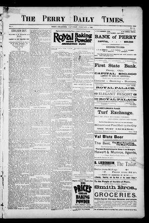 Primary view of object titled 'The Perry Daily Times. (Perry, Okla.), Vol. 2, No. 113, Ed. 1 Saturday, February 2, 1895'.