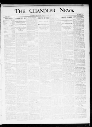 Primary view of object titled 'The Chandler News. (Chandler, Okla.), Vol. 4, No. 20, Ed. 1 Friday, February 8, 1895'.