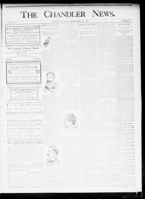 Primary view of object titled 'The Chandler News. (Chandler, Okla.), Vol. 5, No. 27, Ed. 1 Friday, March 27, 1896'.