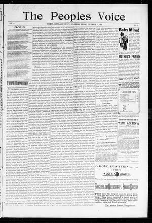 Primary view of The Peoples Voice (Norman, Okla.), Vol. 6, No. 21, Ed. 1 Friday, December 17, 1897