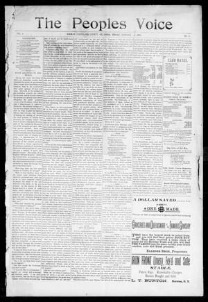 The Peoples Voice (Norman, Okla.), Vol. 6, No. 24, Ed. 1 Friday, January 7, 1898