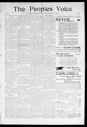 The Peoples Voice (Norman, Okla.), Vol. 6, No. 42, Ed. 1 Friday, May 13, 1898