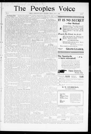 The Peoples Voice (Norman, Okla.), Vol. 6, No. 47, Ed. 1 Friday, June 17, 1898