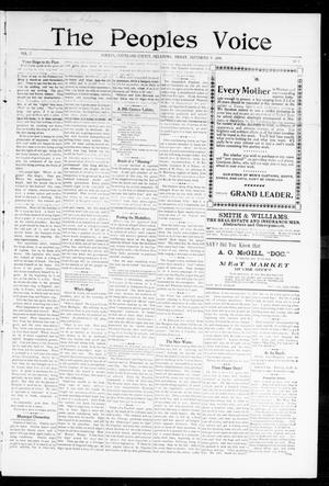 The Peoples Voice (Norman, Okla.), Vol. 7, No. 7, Ed. 1 Friday, September 9, 1898