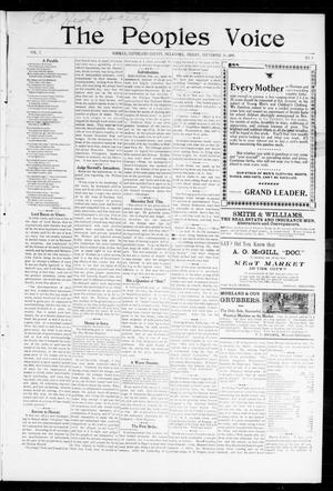The Peoples Voice (Norman, Okla.), Vol. 7, No. 8, Ed. 1 Friday, September 16, 1898