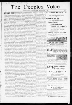 The Peoples Voice (Norman, Okla.), Vol. 7, No. 13, Ed. 1 Friday, October 21, 1898